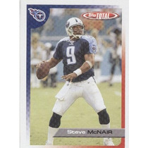 2005 Topps Total Steve Mcnair Tennessee Titans