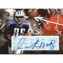 Derrick Mason Tarj C Autografo Titans Topps 2002 Rnt