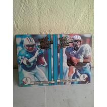 Titans Oilers Cartas De Futbol Americana Colecionables 1990