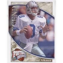 2009 Upper Deck Football Heroes Troy Aikman Dallas Cowboys