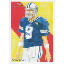 2009 Topps National Chicle Tony Romo Qb Cowboys