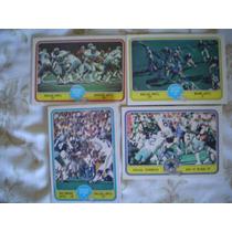4 Tarjetas De Dallas Cowboys De Superbowls 1 V Vi Xi 981