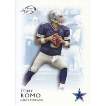 2011 Topps Legends Blue Thick Tony Romo Qb Cowboys