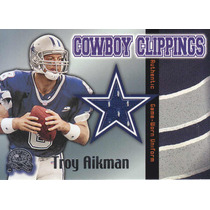 2000 Gotg Cowboy Clippings Jersey Troy Aikman Hof Qb Cowboys