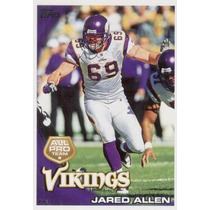 2010 Topps All Pro Jared Allen Minnesota Vikings