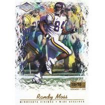 2001 Impressions Premiere Date Randy Moss Wr Vikings 10/50