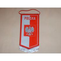 Banderin Seleccion De Polonia Importado