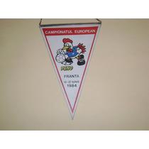 Banderin Original Rumano Eurocopa Francia 1984