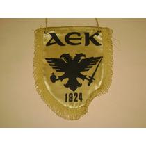 Banderin Original Aek Atenas De Grecia Importado