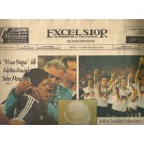 Colección Periódicos Mexicanos Mundial Futbol Italia 1990