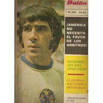 Revista Futbol Reynoso América Marín Cruz Azul Monterrey1973