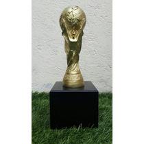 Precioso Trofeo Copa Del Mundo Replica Brasil 2014 Fifa