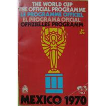 Programa Oficial Del Mundial De México 70, Edit. En Ingland