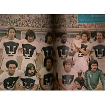 Revista Futbol México Balón Pumas De La Unam 1976