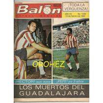 Revista Futbol Balon Especial Chivas Guadalajara 1984