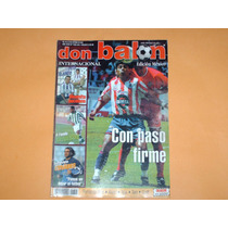 Revista Cuauhtemoc Blanco Valladolid 2001 Don Balon