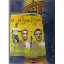 Colección Medallas Exhibidor Futbol América Campeón 2005 Bbf
