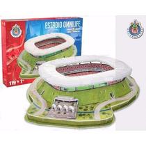 Puzzle 3d Nanostad Estadio Omnilife Club Chivas México