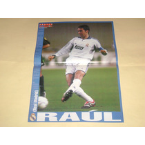 Poster Raul Real Madrid 2001 Don Balon
