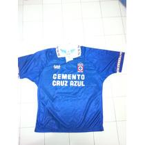 Jersey Del Cruz Azul, Azul Sport, Num. 7 Pintado, Talla G