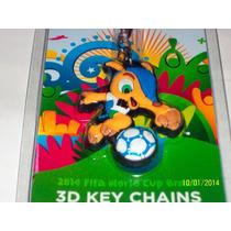Llavero Futbol Mundial Fifa Brasil 2014-tercera Dimension