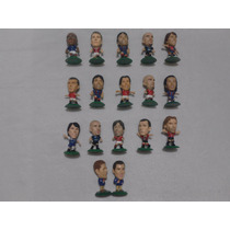 Lote 59 Figuras Futbol Micro Stars Corinthian Kabezones