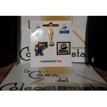 Mundial Francia 1998 Pines Copa Del Mundo Marca Voit Nuevos