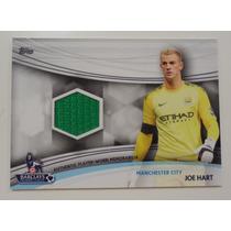 Topps 2013 Joe Hart Jersey Card Manchester City