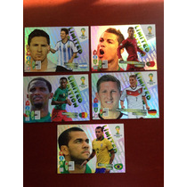 Tarjetas Limited Edition Adrenalyn Brasil 2014
