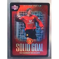 2003 Upper Deck Manchester United #sg19 Ole Gunnar Solsjaer