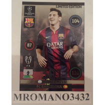 Adrenalyn Limited Edition Lionel Messi Ch 2015 Barcelona