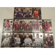 13 Tarjetas Panini Adrenalyn Champions 2014/15 Ronaldo Messi