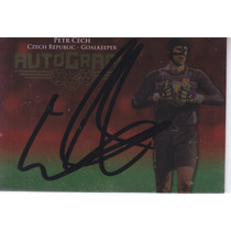2013 Futera Unique Autografo Petr Cech Czech Goalkeeper /55
