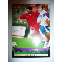 Upper Deck 93 World Cup 1994 Futbol Bora Belgica 210