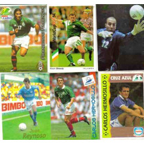 Tarjetas Futbol Soccer Seleccion Mexicana