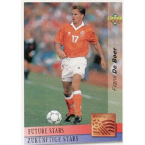 1993 Upper Deck Future Stars Frank De Boer Usa 1994
