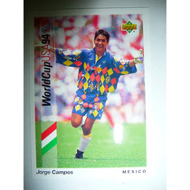 Upper Deck 93 World Cup 1994 Futbol Jorge Campos 17