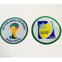 Parches Del Mundial Brasil 2014