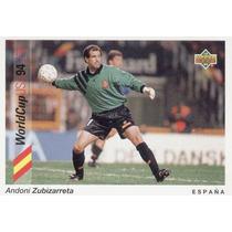 1993 Upper Deck Andoni Zubizarreta Mundial Usa 1994 España