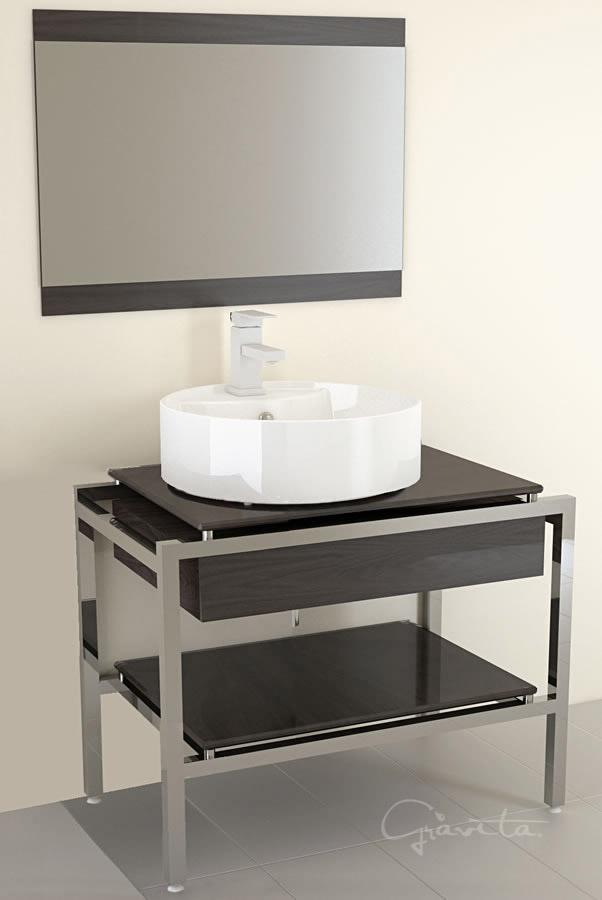 Lavabos gabinetes para ba o for Lavabo minimalista