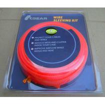 ## Funda Para Cables Fuente De Poder Sleeving Kit Rojo ##