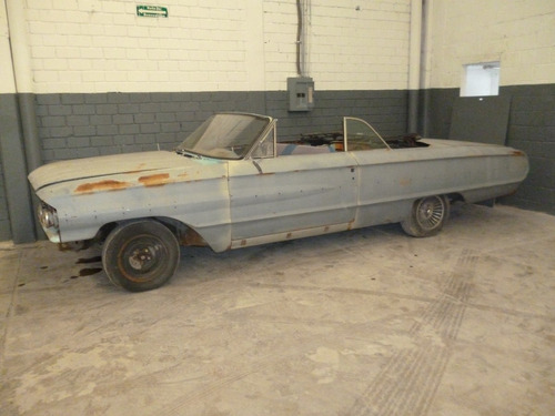 Galaxie 1964 Convertible Para Restauración Total