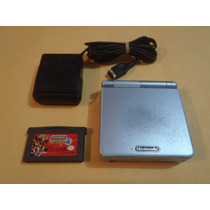 Game Boy Advance Sp Doble Luz 101 Azul + Juego Digimon