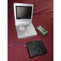 Game Boy Sp - Cargador Y Juego