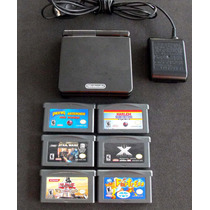 Nintendo Game Boy Advance Sp - Incluye 6 Juegos