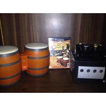 Gamecube Con Bongos Y Juego De Donkey Kong !