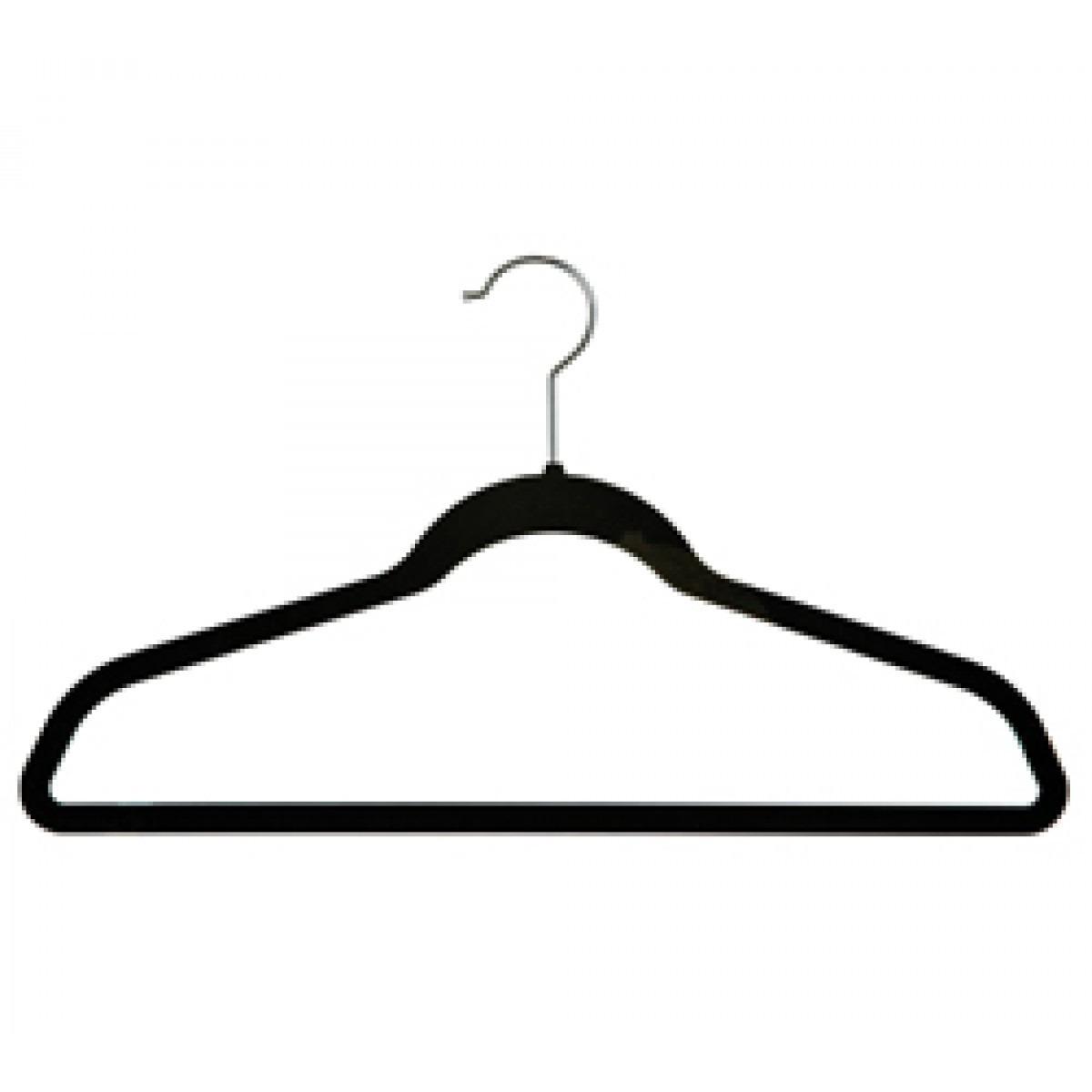 Gancho con terciopelo para ropa 50 piezas en for Gancho colgador de ropa