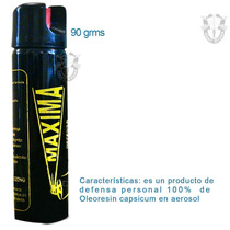 Gas Pimienta/lacrimogeno Defensa Personal Spray 90 G P/bolso