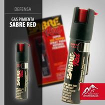 Gas Pimienta Sabre Americano Defensa Personal 6 Mts Alcance!