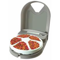 Alimentador Electronico C / Temporizador Para Gatos Y Perros